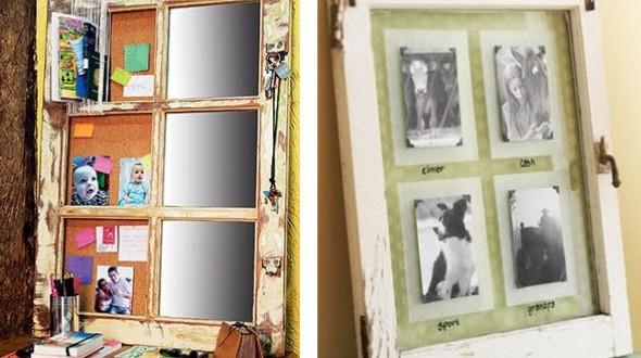 Reciclando janelas antigas de madeira