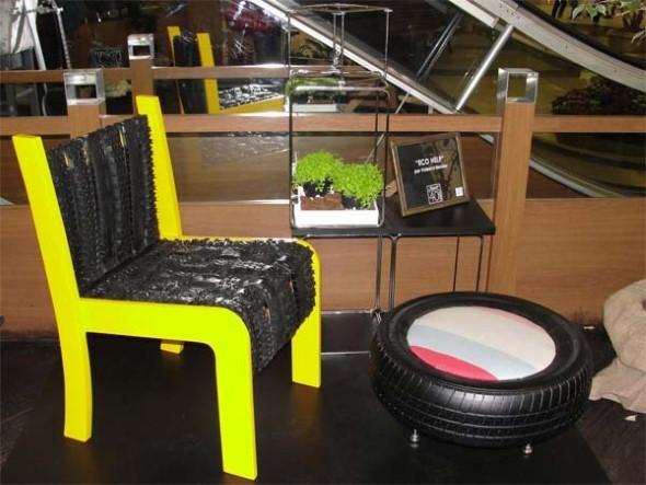 Artesanato com cadeiras antigas 012