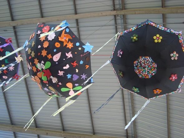 Artesanato com guarda-chuvas 009