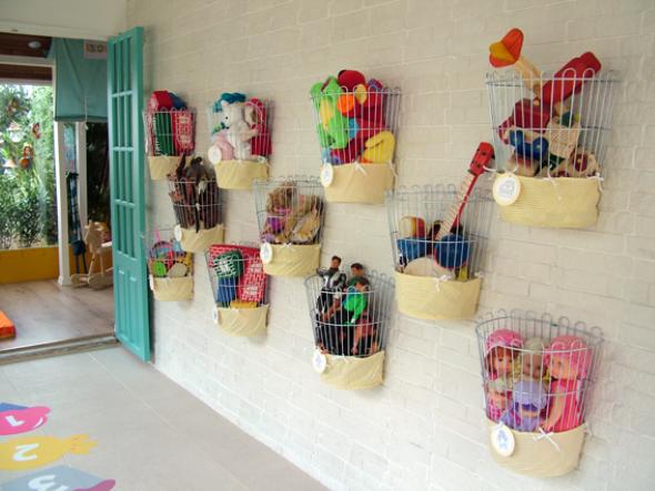 Organizadores artesanais para o quarto das crianças 001