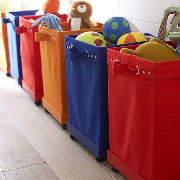 Organizadores artesanais para o quarto das crianças 009