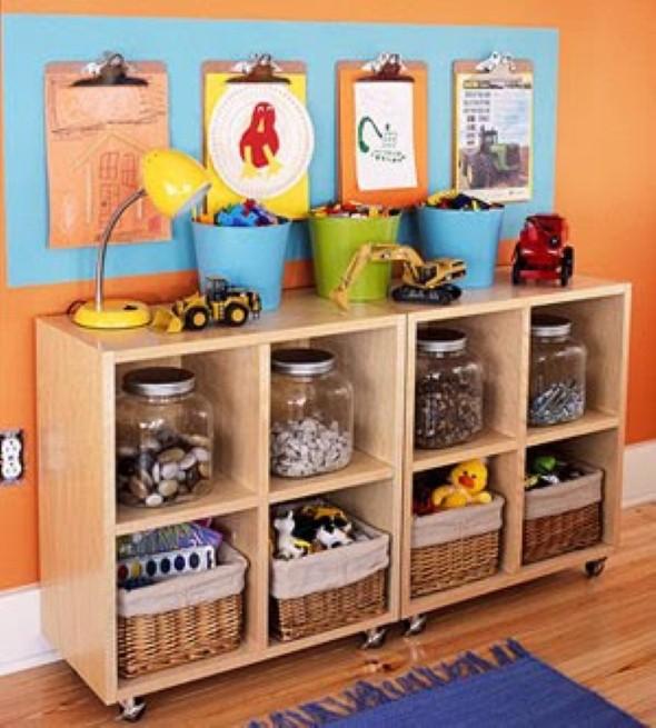 Armario Tok Stok ~ Organizadores artesanais para o quarto das crianças