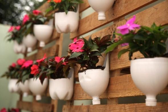 Vasos de flores artesanais e criativos 011