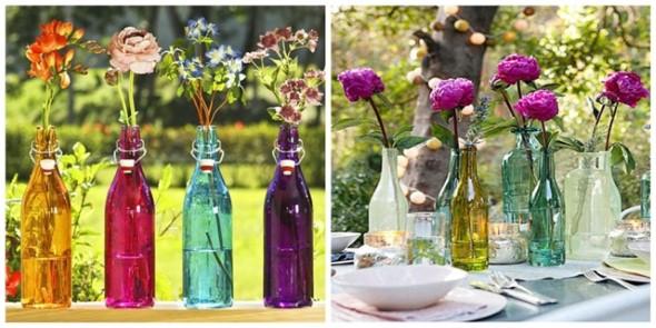 Vasos de flores artesanais e criativos 013