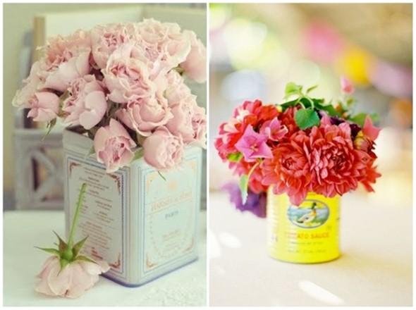 Vasos de flores artesanais e criativos 014
