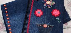 Artesanato com jeans usado – Dicas e modelos criativos
