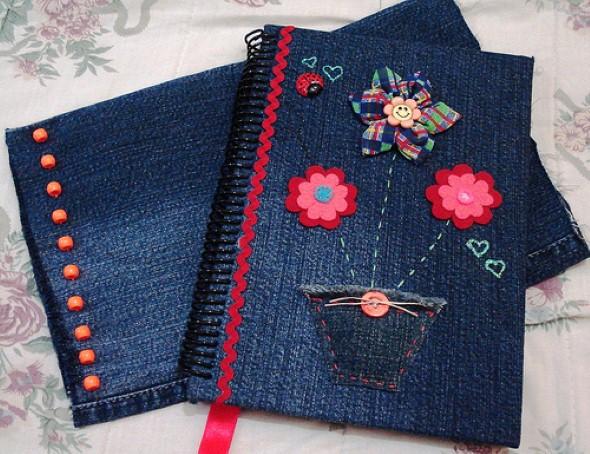 Artesanato com jeans usado u2013 Dicas e modelos criativos