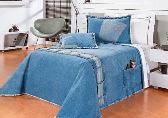 Artesanato com jeans usado 009