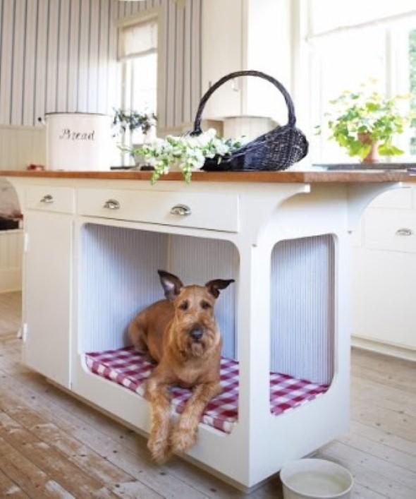 Cama artesanal para animais de estimação 006