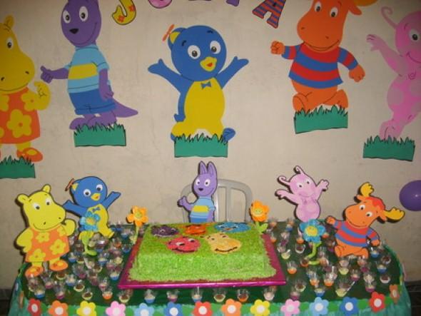Dicas para fazer decoração em EVA para festa infantil # Decoracao De Banheiro Infantil Em Eva