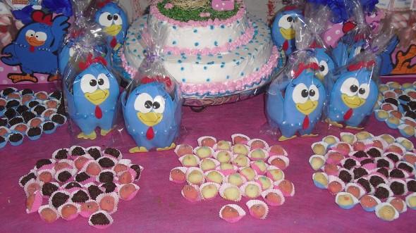 Decoração em EVA para festa infantil 003