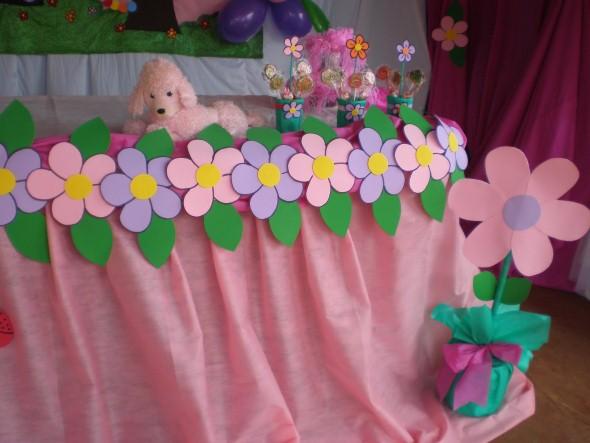 festa infantil motivo jardim – Doitricom -> Decoracao De Banheiro Infantil Em Eva