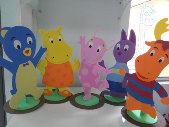 Decoração em EVA para festa infantil 013
