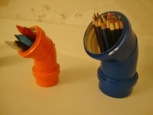 Porta lápis artesanal 001