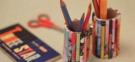 Porta lápis artesanal – Dicas e modelos criativos