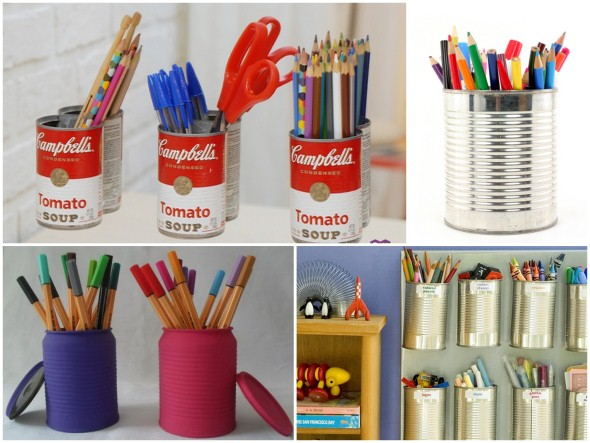 Porta lápis artesanal 010