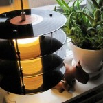 artesanato com discos de vinil 011