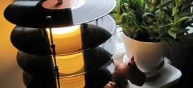 Idéias criativas de artesanato com discos de vinil