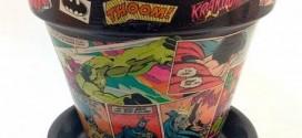 Artesanato com revistas em quadrinhos