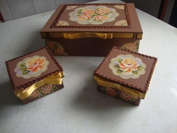 Como decorar caixas de MDF em casa 004