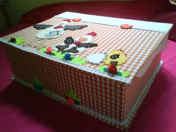 Como decorar caixas de MDF em casa 013