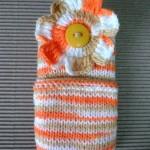 Como fazer porta celular de crochê