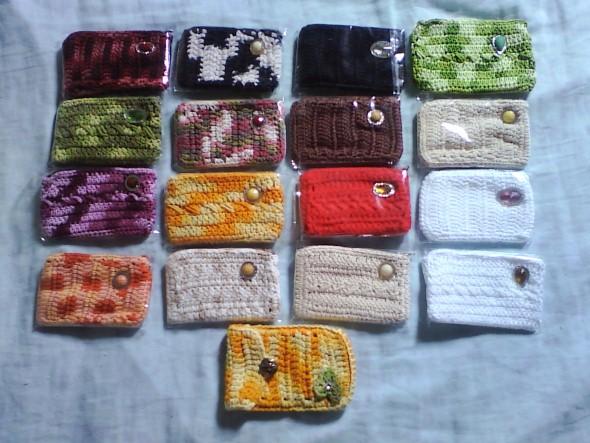 Como fazer porta celular de crochê 012