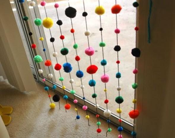 Cortina artesanal criativa 004