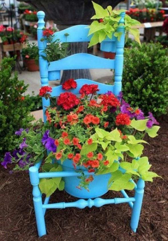 Dicas de artesanato para seu jardim 010