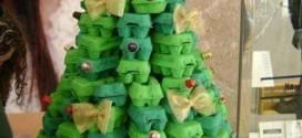 Árvore de Natal de material reciclado – Modelos e como fazer
