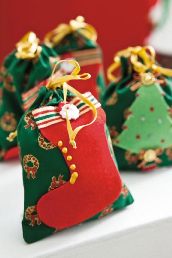 Artesanato natalino com feltro 012