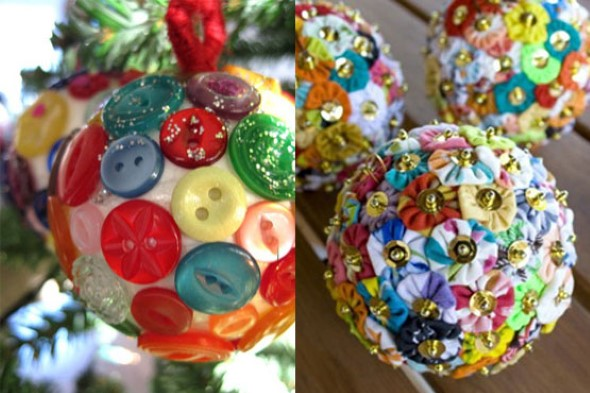 Como fazer enfeites natalinos 003