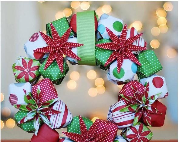Guirlandas criativas para o Natal 009