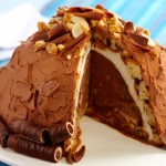 Receita de torta gelada de Natal