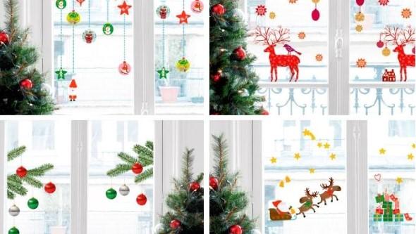 Enfeites de janela para o Natal 005
