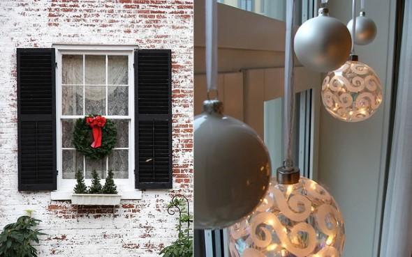 Enfeites de janela para o Natal 006