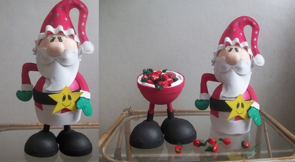 Papai Noel artesanal 006