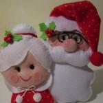 2 Dicas para fazer Papai Noel artesanal e 14 modelos criativos