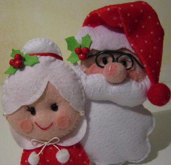 Papai Noel artesanal 008