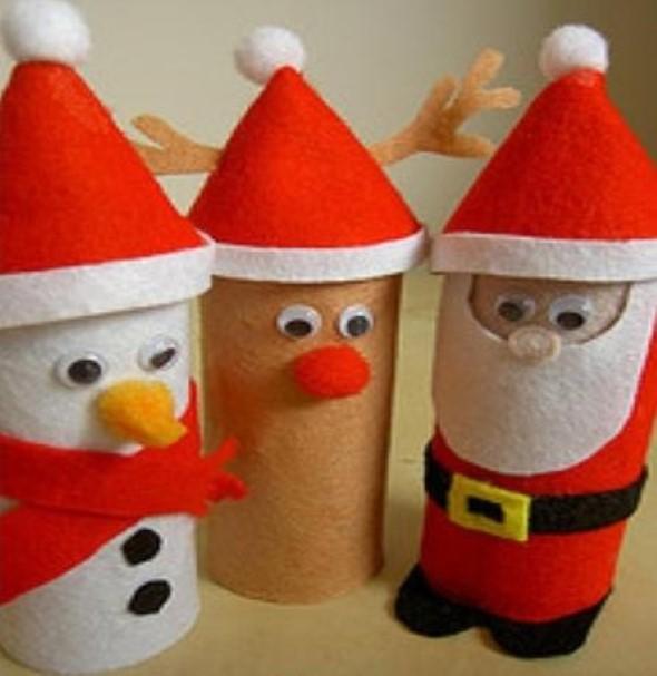 Papai Noel artesanal 010