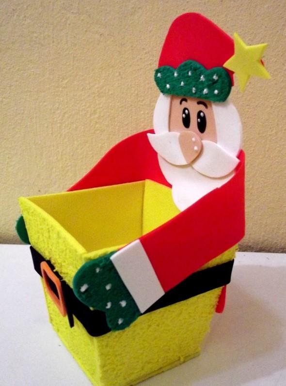 Papai Noel artesanal 012