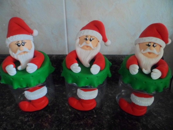 Papai Noel artesanal 013