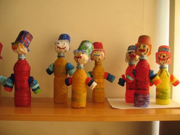 15 dicas criativas de artesanato com garrafas pet 005