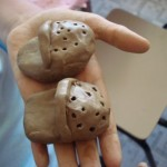Artesanato com argila para as crianças