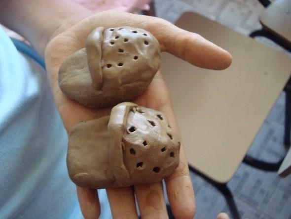 Artesanato com argila para as crianças 001