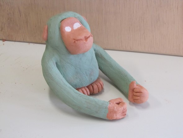Artesanato Com Argila Simples ~ Artesanato com argila para as crianças