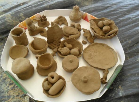 Artesanato com argila para as crianças 013