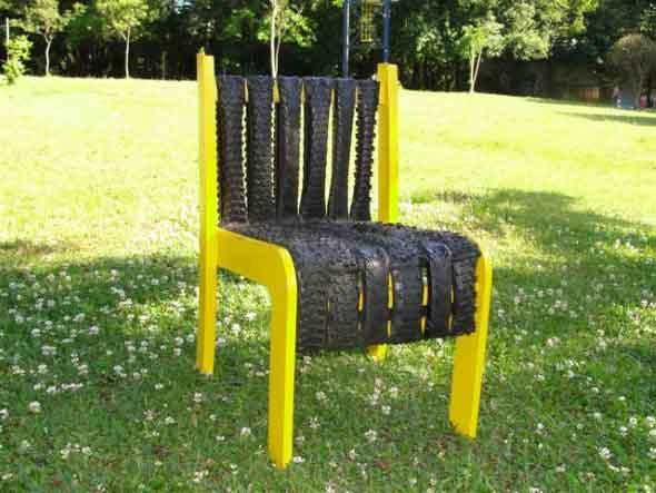 Artesanato com pneus – Reciclando com arte 014