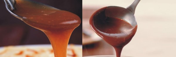 Calda de chocolate e caramelo 003