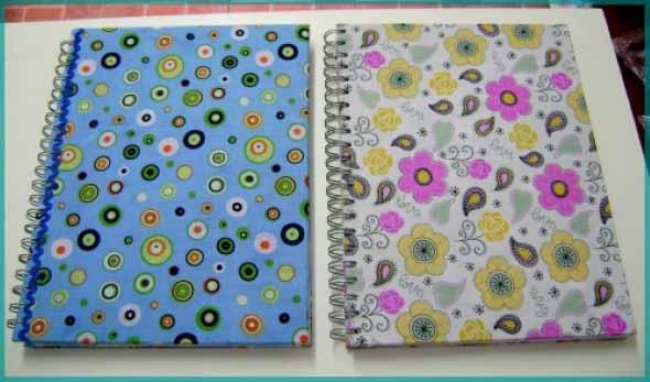 Como encapar caderno para volta às aulas 007